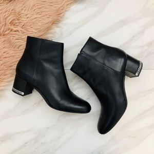Michael Kors black ankle booties size 9